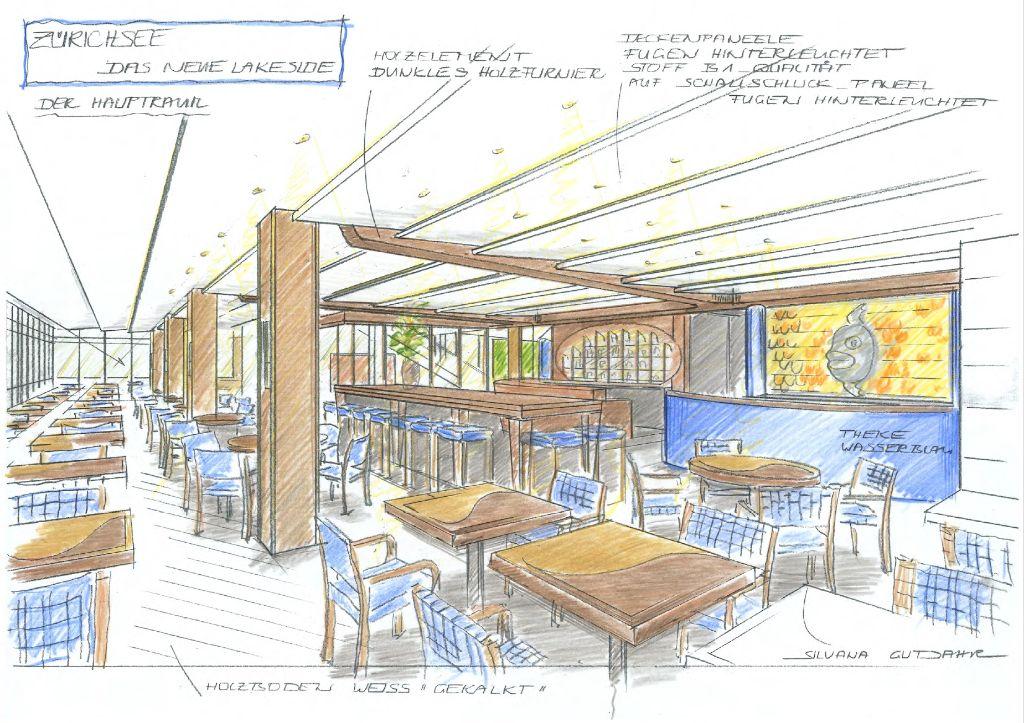 1. Entwurf Restaurant