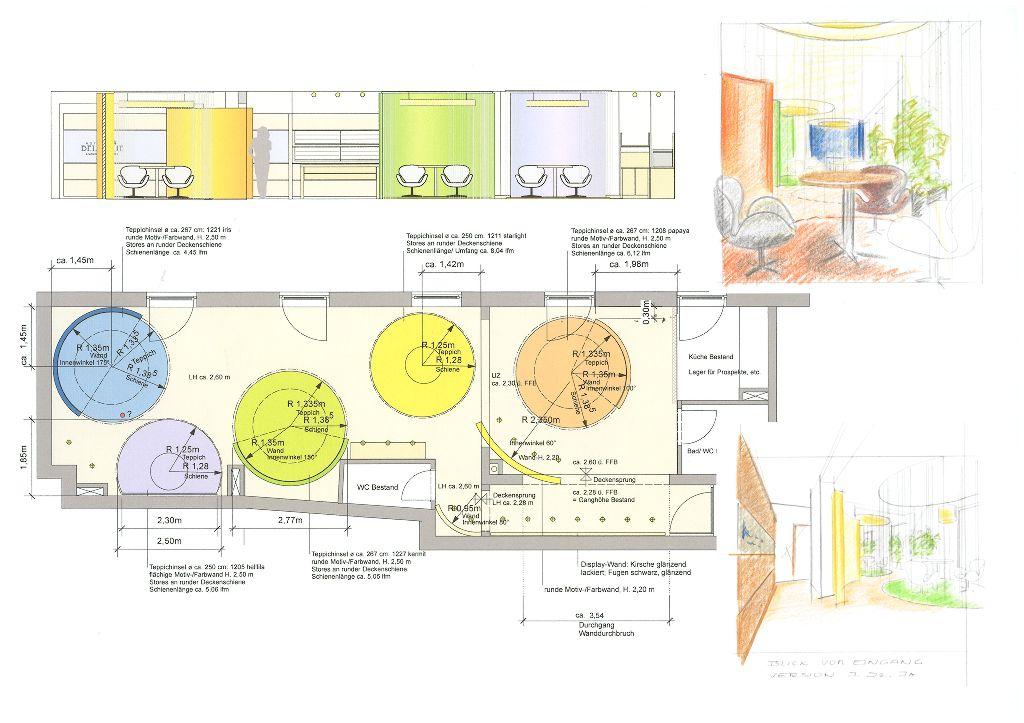 Bellevue-Seminarraum-Entwurf
