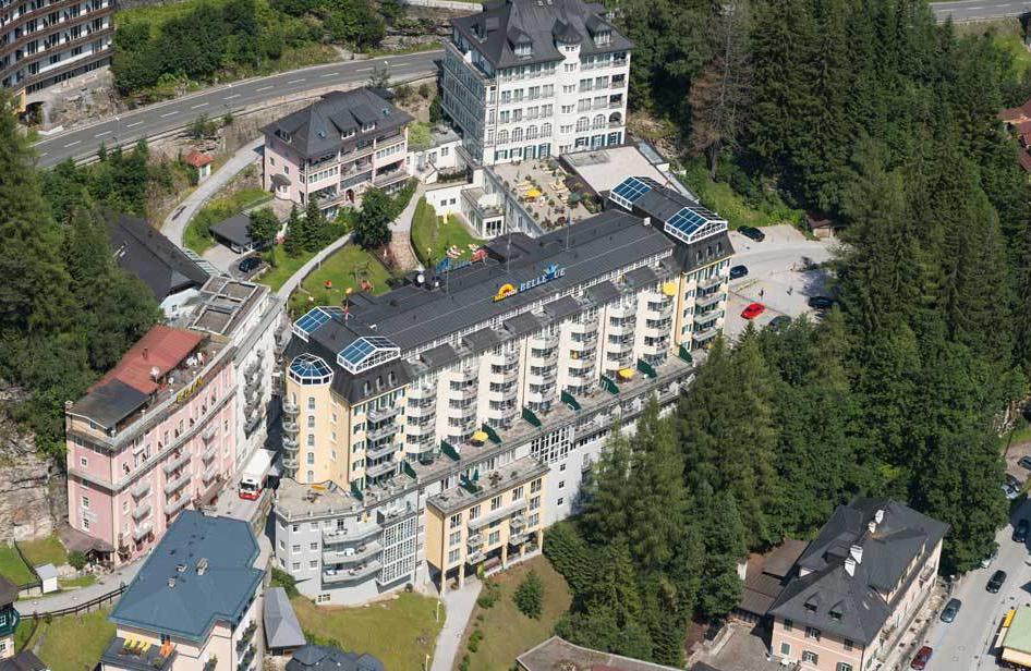 Bellevue von oben