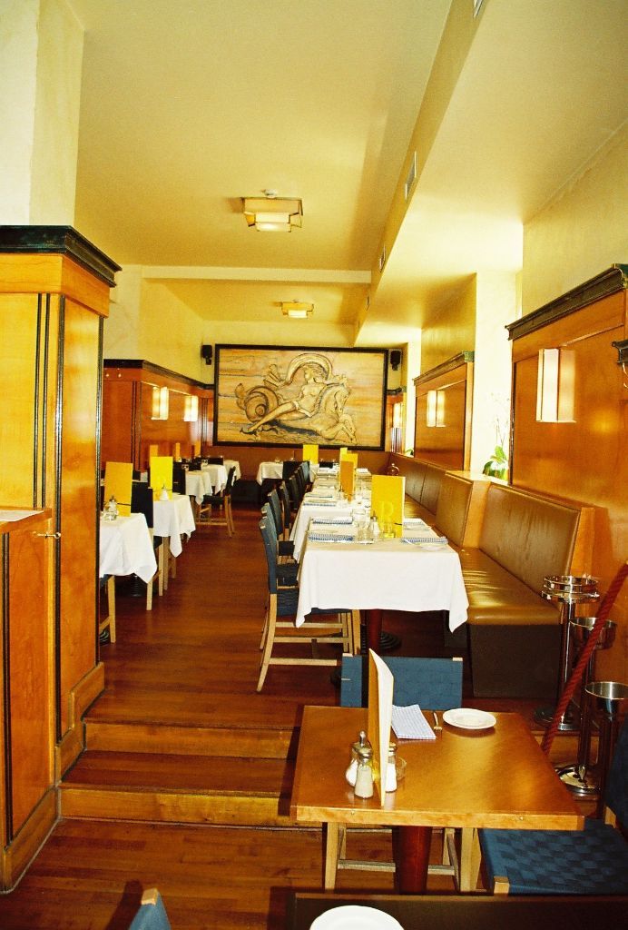 Blick in Restauranttiefe
