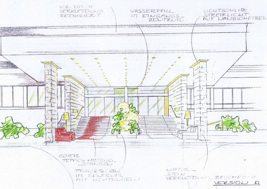 EH Eingang-Entwurf