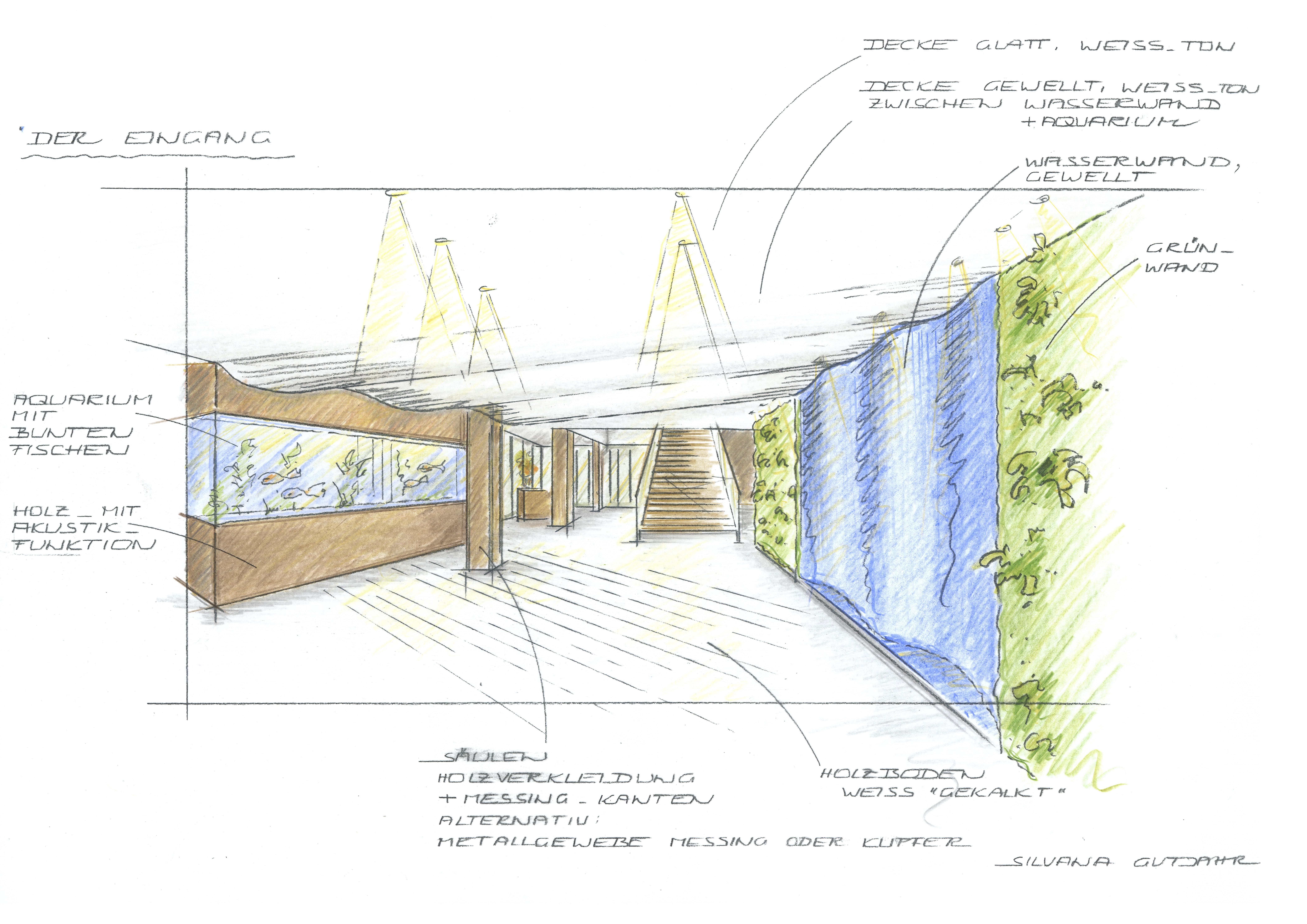 Entwurf Foyer