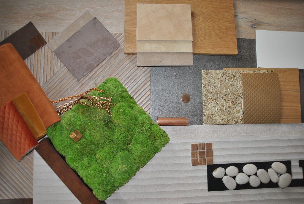 Farb und Materialkonzept