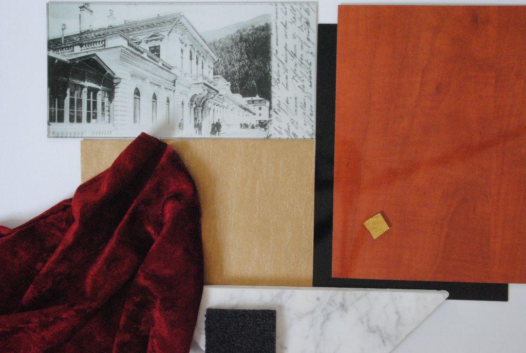 Farb- und Materialstimmung