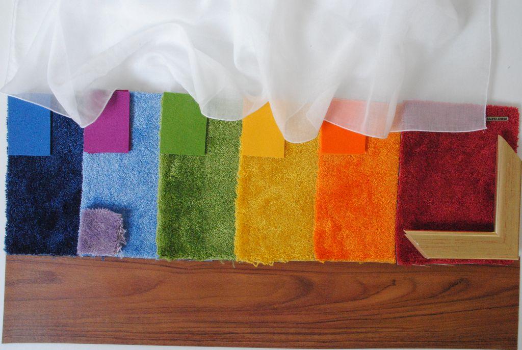 Farben und Materialien