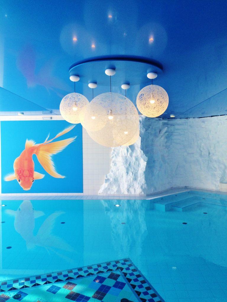 Fisch + Bubbles + Felsen