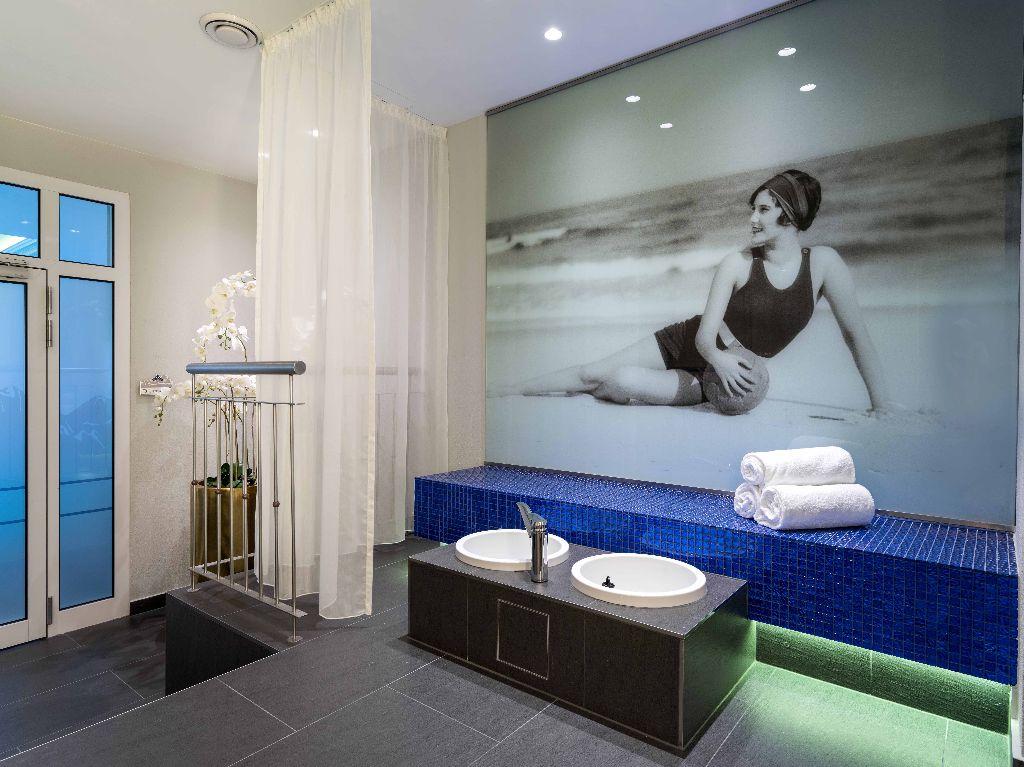 Link zu Hotel Bellevue – Bad Gastein - Sauna und Schwimmbad