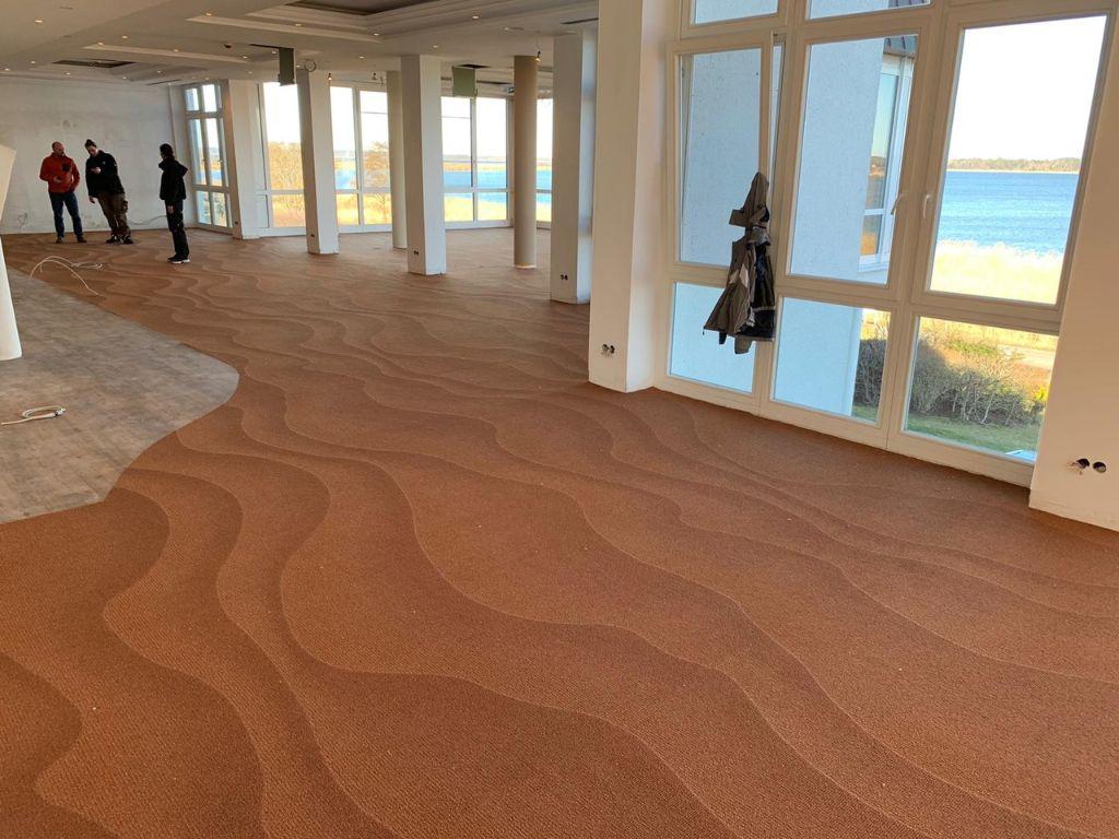 Der Teppichboden ...... die Sandrippel des Meeres