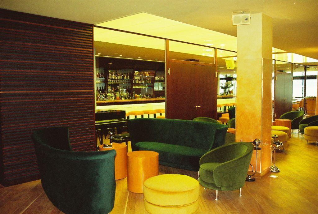 Lounge im Zugangsbereich