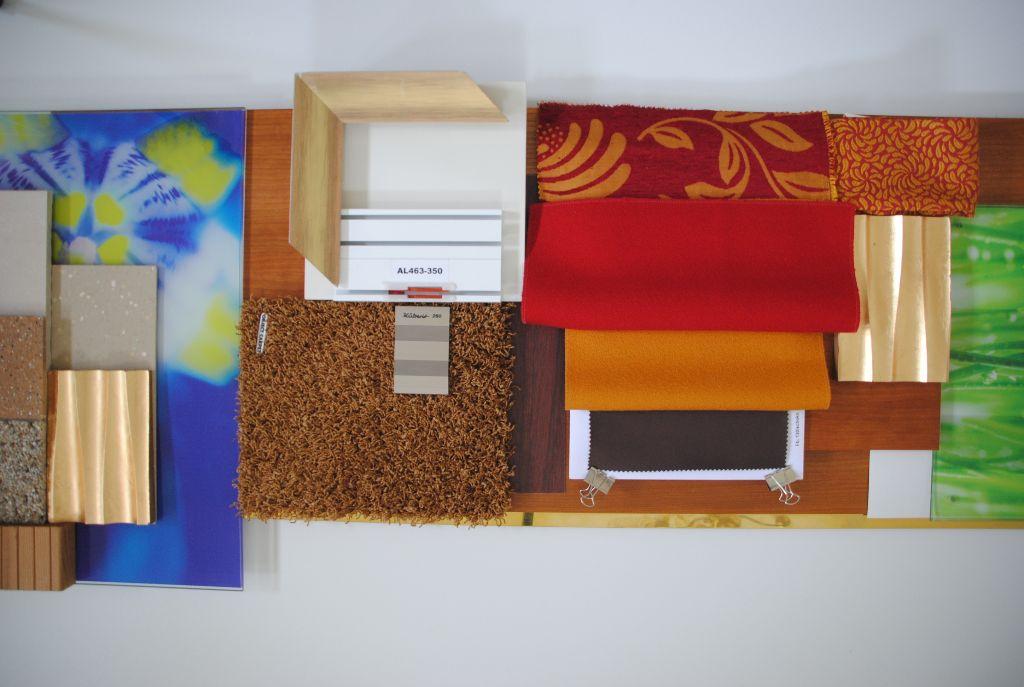 Material- und Farbkonzept