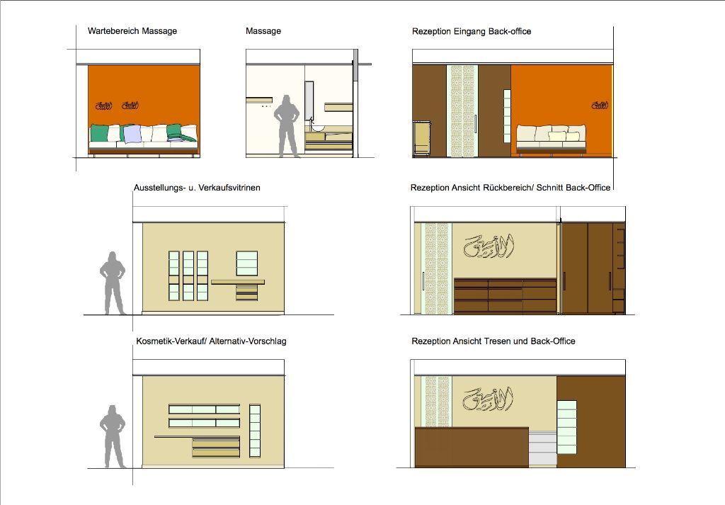 Möbel + Elemente der Gestaltung im EG
