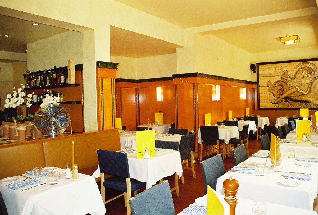 Restaurant mit Nische