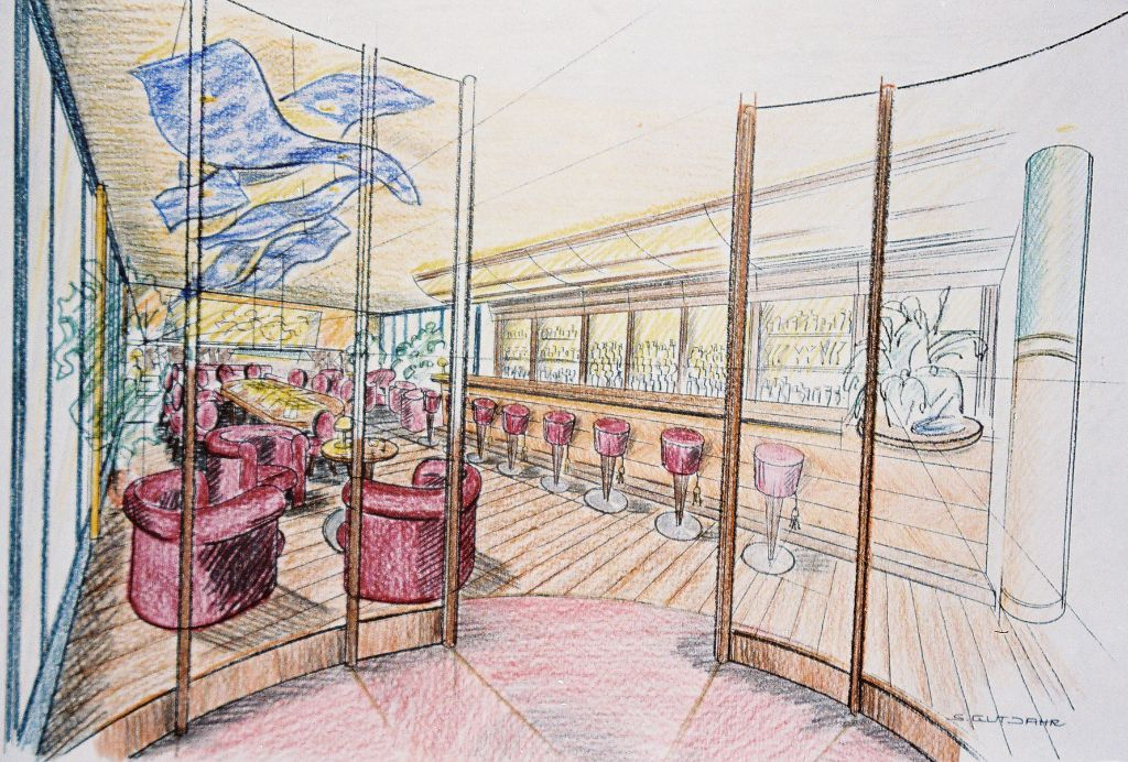 Rothof, Bar + Lounge-Entwurfskonzept