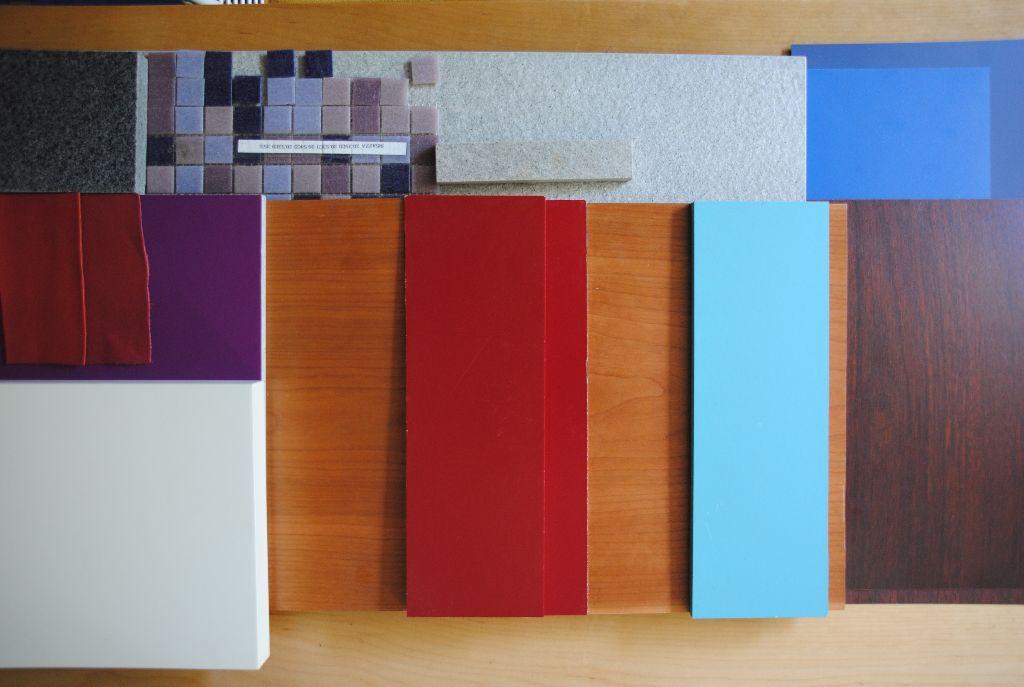 Sibyllenbad Farben + Materialien