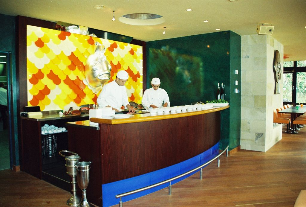 Sushi-Bar im Restaurant
