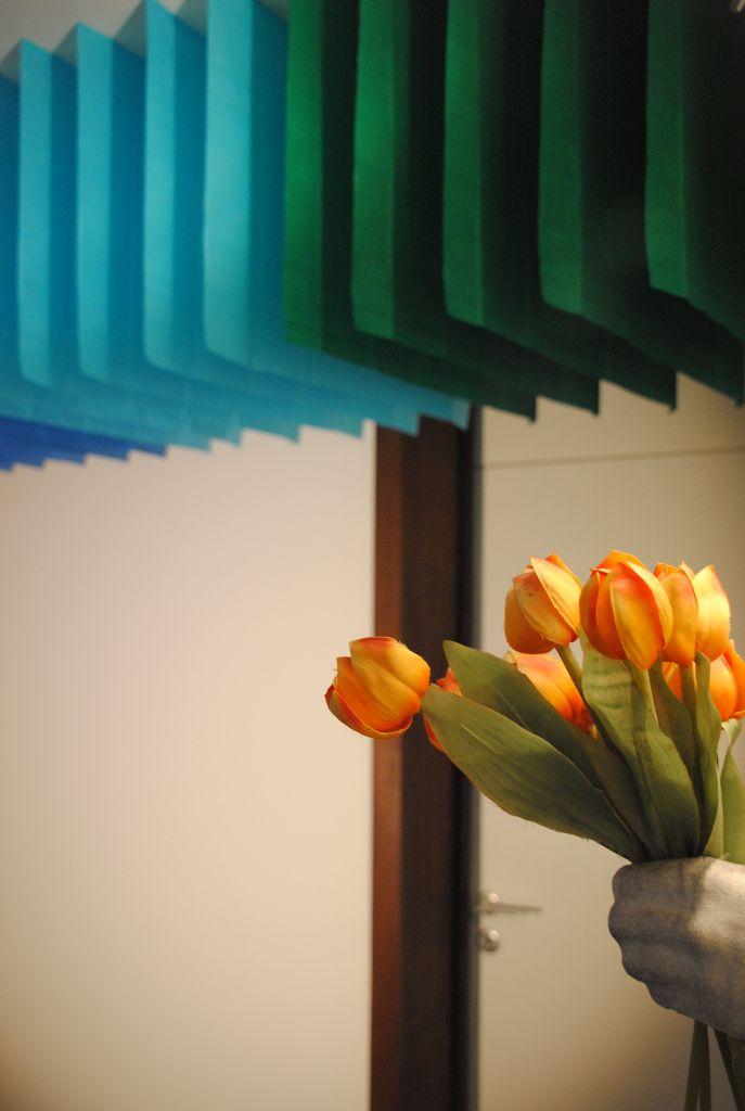 Tulpen + Blaetter
