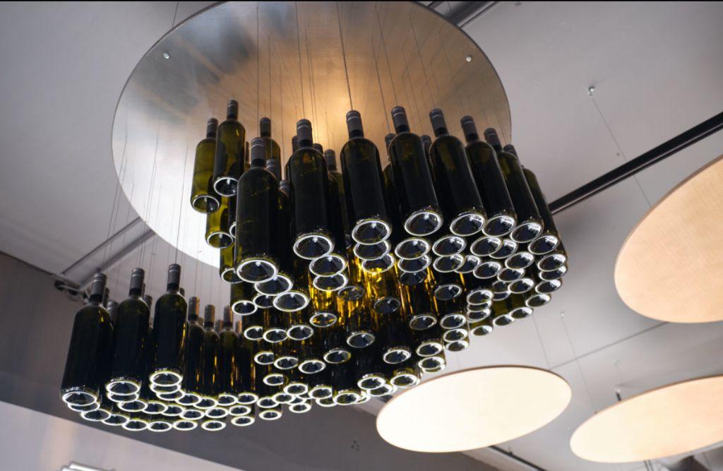 Weinflaschenwolke