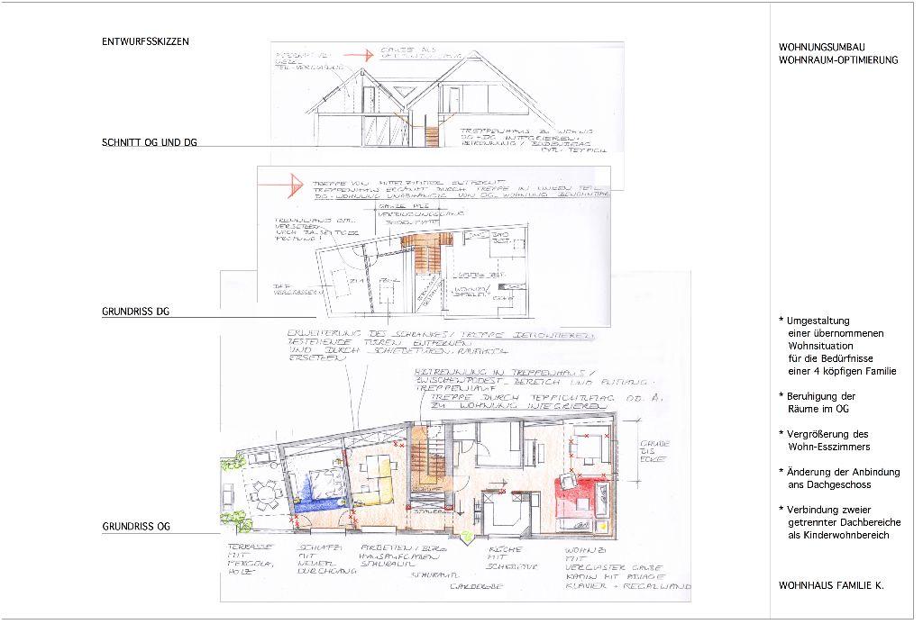 Wohnhaus-Umbau Familie K.